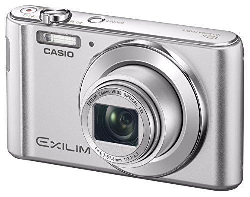 Casio Digital Camera Exilim Ex-Zs210Sr Strong 12X Optical usato  Spedito ovunque in Italia