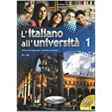 L'Italiano All'Universita: Libro + CD-Audio 1 (Level A1-A2)