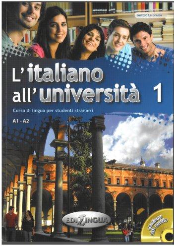 L'italiano all'università. Con CD Audio: 1 por Matteo La Grassa