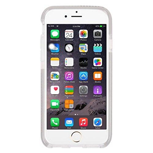Wkae Case & Cover Pour le cas de protection iPhone 6 &6s Knit Texture TPU ( Color : White ) Grey
