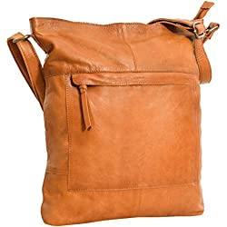 Handtasche Leder Gusti Studio Maola Ledertasche Cognac