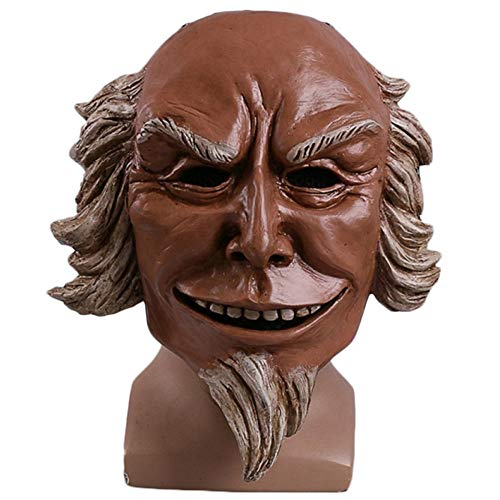 QQWE Human Clearance Plan 3 Maske Uncle Sam Mask Helm Böse Maske Spiel Cosplay Halloween Weihnachten Maske Performance Show Requisiten,UncleSam-OneSize (Sam Kind Uncle Kostüm)