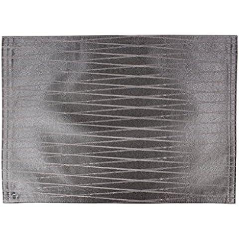 Lovein Valla Patrón manteles individuales Marrón 33x 48cm (13x 19inch) Juego de 246812, 50% algodón/50% poliéster, marrón, 33x48cm