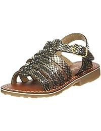 Sandale Mode Coquillage, Spartiates Femme, Noir (Black), 41 EUL'Atelier Tropézien