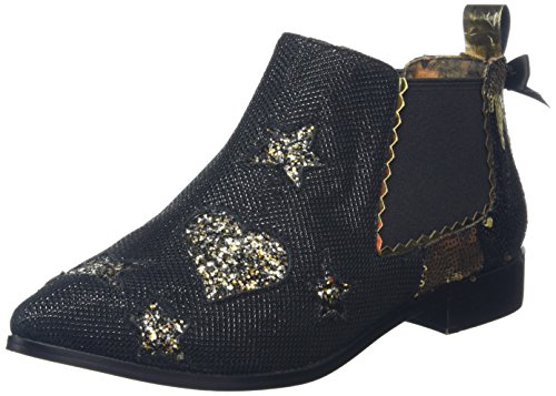 Irregular Choice Starlight Impress, Escarpins femme Noir - Noir