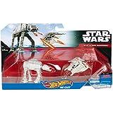 Hot Wheels Star Wars Diecast Vehículo 2u. - AT-AT Vs. Snowspeeder