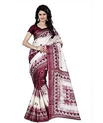 Trendz Taffeta Silk Floral Print Saree(TZ_1026_D)