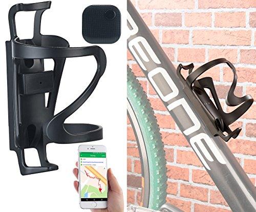 TrackerID GPS Sender Fahrrad: GPS-Tracker im Fahrrad-Flaschenhalter mit App, 6 Monate Laufzeit, IPX6 (Fahrrad Finder)