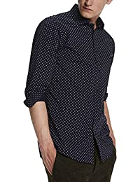 Scotch & Soda Classic Shirt In Cotton/Elastane Quality, Chemise de Loisirs Homme