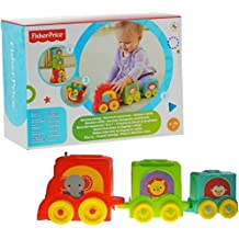 Mattel – Fisher-Price Stack and Roll Choo Choo Stacker
