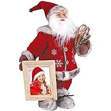 ZEP Portafoto Peluche Babbo Natale Babbo Natale Finland CK477 Addobbi  Natalizi d65516ccf5a1