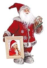 Idea Regalo - ZEP Portafoto Peluche Babbo Natale Babbo Natale Finland CK477 Addobbi Natalizi
