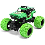 Curtis Toys 1/12 2.4G 4WD Monster Truck Brushed High Speed Climbing RC Car (Green)