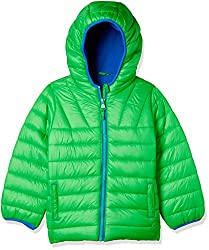 Mothercare Boys Quilted Regular Fit Jacket (MD007-1_Green_3-4 Y)