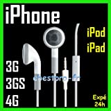 Stereo Earphones/Headphones For All Apple iPods, iPhones, iPads