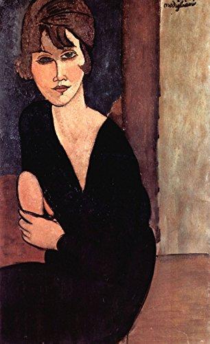 Das Museum Outlet–Modigliani–Portrait of Madame Reynouard–Leinwand (61x 45,7cm)