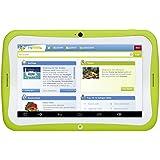 Blaupunkt Tablet PC 4Kids/Tablette PC pour Enfant, env. 17,8cm (7pouces), Android 5.1, 8Go, fonction de Parents de sécurité, fragfinn. de sécurité enfants suchma Schine préinstallé, vert (kindgerechte Coque Bleu/Rose)