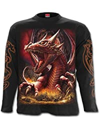 Spiral Men - Awake The Dragon - Longsleeve T-Shirt Black
