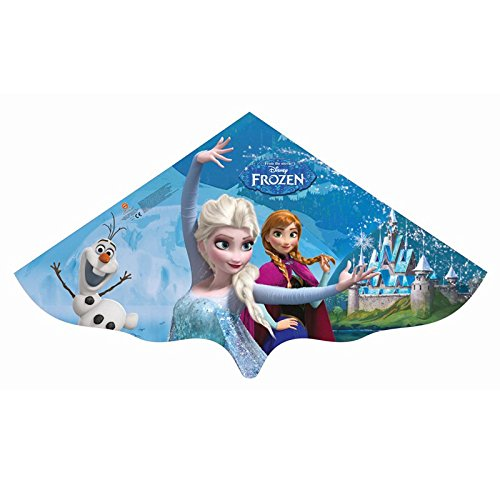 Kinderdrache Frozen Elsa 115x63cm Drache Flugdrache Spieldrache bunt PE-Folie