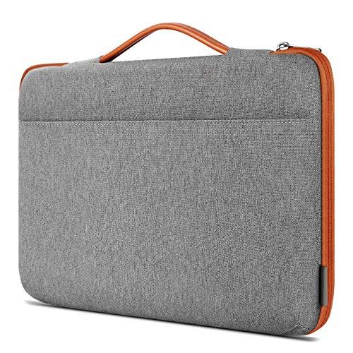 Inateck Stoßfestes Laptop Sleeve Hülle Tasche Spritzwasserfest für die meisten 13-13,3 Zoll Laptops, Notebooks, Ultrabooks und Netbooks (Laptop-tisch Ultrabook)