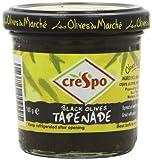 Crespo Black Olive Tapenade 100 g (Pack of 6)