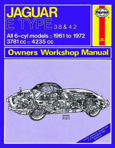 Haynes garage qualità auto riparazione manuale/libro per Jaguar e Type (61-72) fino a L incluso un de-mister Pad e 1auto deodorante.