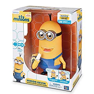 Despicable Me 2 Minions Kevin Banana Eating Action Figure