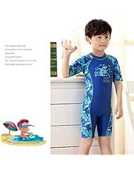 urchoiceltd® 2016Neuf enfants Vêtements Maillots de bain Boy Cartoon Shark Siamois Maillot de bain boxer de natation pour homme protection solaire