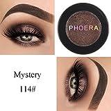 Lidschatten, FEITONG Make-up Metallische Glänzende Augen Lidschatten Wasserdichte Glitter Lidschatten #14