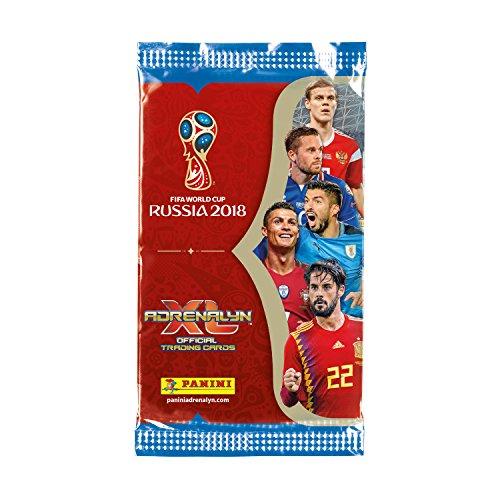 06e6668502 Panini Adrenalyn XL 2018 FIFA World Cup ™ Juego de cartas coleccionables de  la Copa del