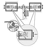 RICOO Monitor Tischhalterung für 2 Monitore M...Vergleich