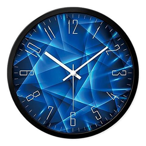 Moderne et tendance Montres horloge murale de salon autour de