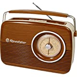 Roadstar TRA-1957/WD Radio Retro Portable Marron