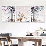 KTPMXX Kreative Europäischen Stil Schlafzimmer Warme Foto Wandaufkleber Bilderrahmen Malerei Wandaufkleber Raumdekoration Tapete Tapete Selbstklebende, Breite 58 Cm * Höhe 60 Cm