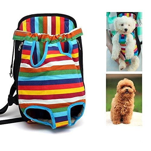 Haustier-Rucksack-Hundetragefall-Hundetragetaschen-Träger-Rucksack-vordere Hundeschulter-Tasche Freihändige justierbare Haustier-Hundelager-Rucksack-gehendes Wandern-Fahrrad u. Motorrad