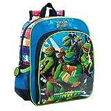 Teenage mutant ninja turtles 25621A1 Building Kinder-Rucksack, Blau