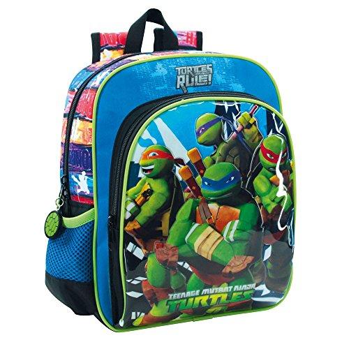 Teenage mutant ninja turtles 25621A1 Building Kinder-Rucksack, (Blaue Teenage Ninja Mutant Turtles)