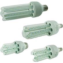 FuturPrint - Bombillas LED de larga duración, última generación, ultra luminosas y eficientes, color blanco frío (E27, 16 W = 160 W, 3500 K)