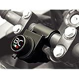 BC Battery Controller 710-P12A - Toma de Mechero / Toma Encendedor 12V Estanca con Soporte Universal para Manillar para Moto