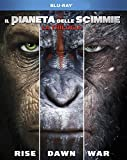 Il Pianeta Delle Scimmie - La Trilogia (3 Blu-Ray)