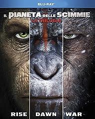 Idea Regalo - Il Pianeta Delle Scimmie - La Trilogia (3 Blu-Ray)