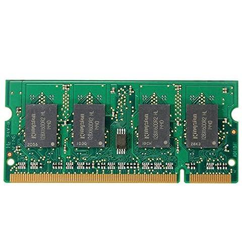 PhilMat 2gb ddr2 533mhz PC2-4200 non-RAM ECC de mémoire DIMM ordinateur portable pc