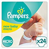 Pampers - New Baby Micro - Pañales - Talla 0 (1 - 2.5 kg) - 2 x 24 pañales