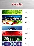 Küchenrückwand/Fliesenspiegel - Plexiglas 1000-1200 mm x 500-600mm x 3mm