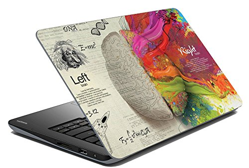 meSleep Brain Laptop Skin