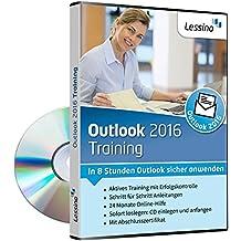 Outlook 2016 Training - In 8 Stunden Outlook sicher anwenden [1 Nutzer-Lizenz]