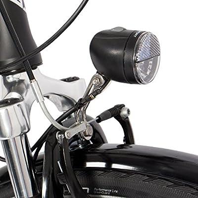 Gregster Aluminium City-Bike Fahrrad StVZO, Schwarz, 28 Zoll, GR-6671