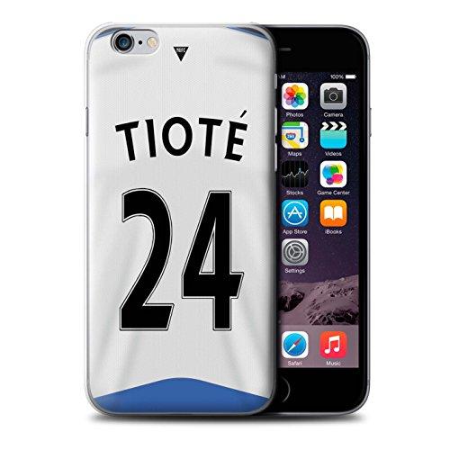 Offiziell Newcastle United FC Hülle / Case für Apple iPhone 6S+/Plus / Rivière Muster / NUFC Trikot Home 15/16 Kollektion Tioté