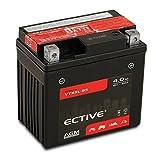 ECTIVE 12V 4Ah AGM Motorradbatterie YTX5L-BS : 4Ah...