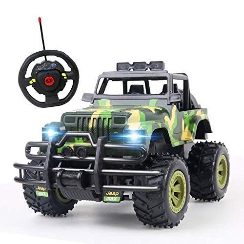 Knmbmg Lenkrad Drahtlose Fernbedienung Elektrische Racing RC Buggy Truck Crawler Spielzeug for Erwachsene und Kinder Großes Auto 2,4 Ghz Geländewagen Crawler High Speed   Toy Boy Mädchen Geburtstagsge